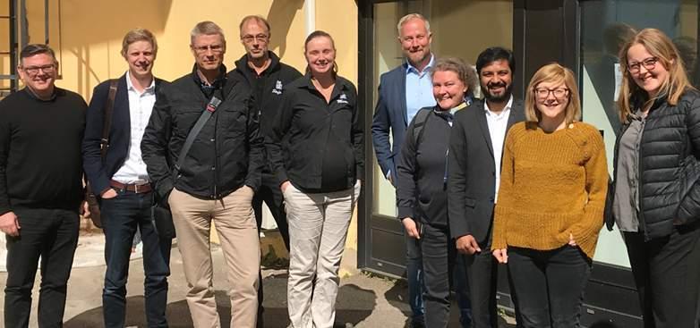 Många parter deltog när Mycorena besökte LignoCity