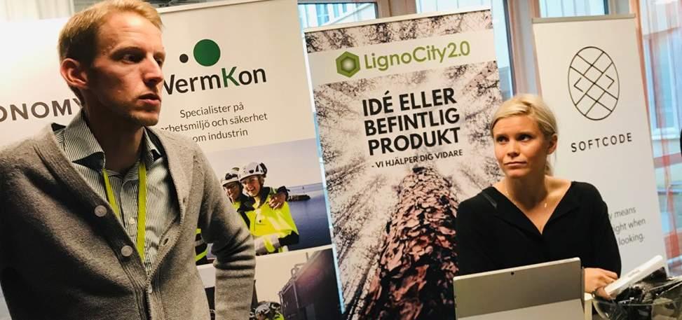 LignoCity träffade ingenjörsstudenter
