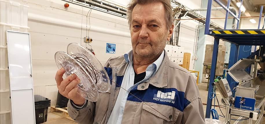 Mer skogsråvara i material för 3D-printing