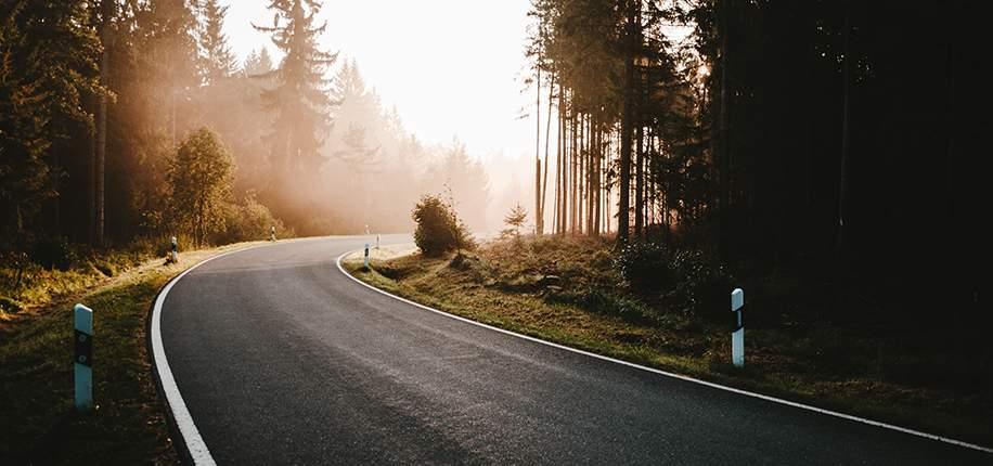 Sverige har fått sin första klimatsmarta ligninväg asfalterad