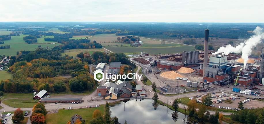 Besök LignoCity digitalt – här skapas framtidens hållbara material